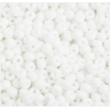 Seedbead Opaque White 4/0